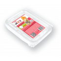 Lunch box with fork 750 ml - 4 pieces